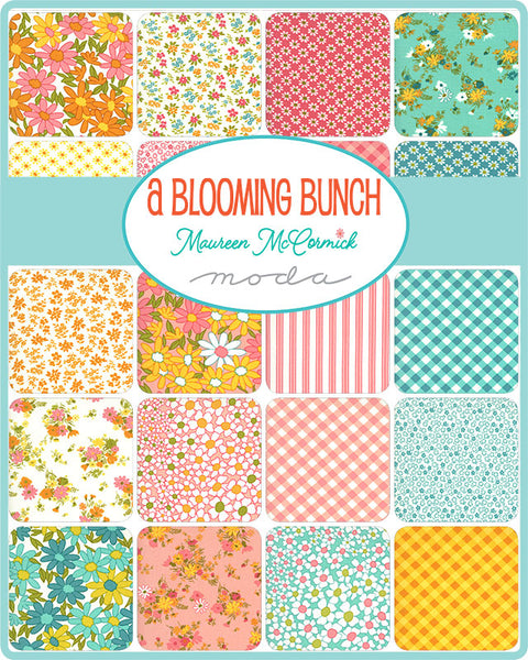 A Blooming Bunch Layer Cake by Maureen McCormick for Moda
