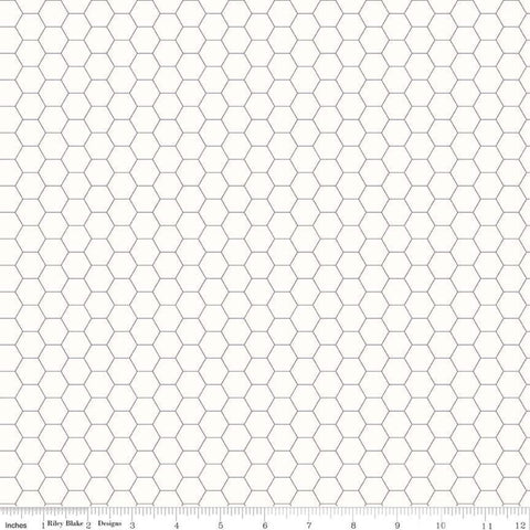 Bee Backgrounds Honeycomb Gray