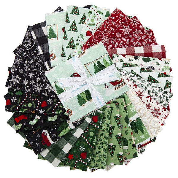 Christmas Traditions Fat Quarter Bundle