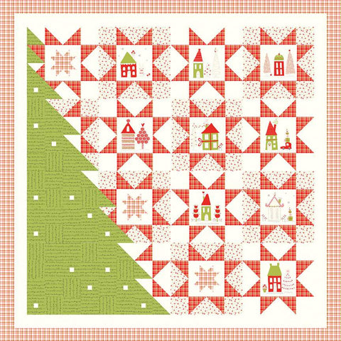 A Merry Little Christmas Quilt Boxed Kit