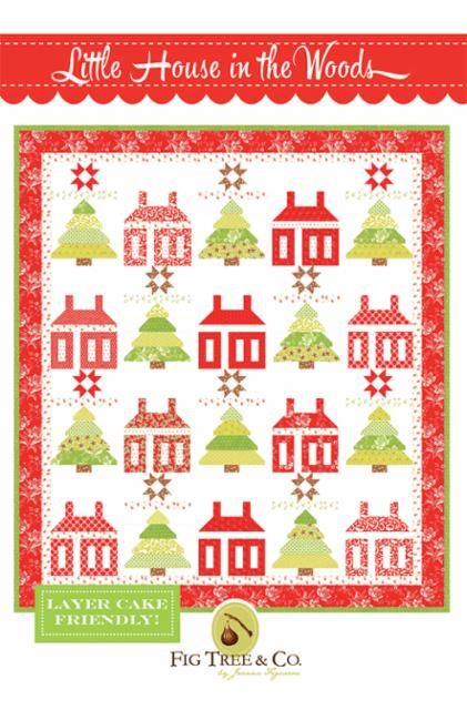 Little House In The Woods Pattern by Fig Tree Quilts