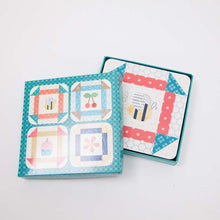 Load image into Gallery viewer, Lori Holt Bee Happy Coasters