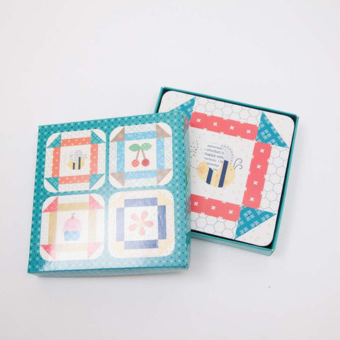 Lori Holt Bee Happy Coasters