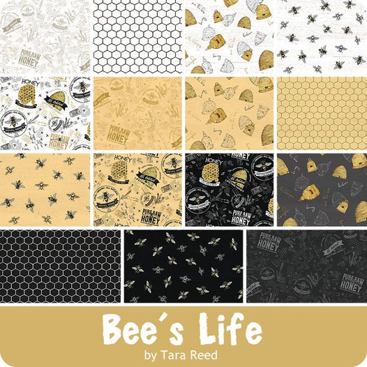 Bee's Life Fat Quarter Bundle - October 2020
