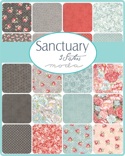Sanctuary Layer Cake by 3 Sisters for Moda