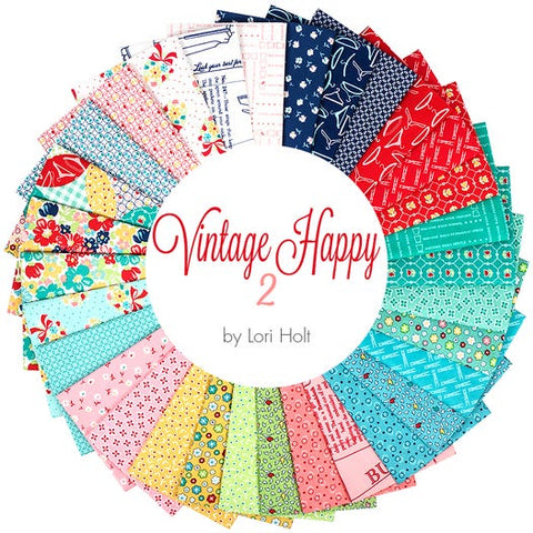 Vintage Happy 2 | Fat Quarter Bundle