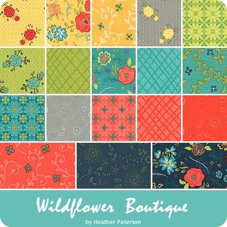 "Wildflower Boutique 5"" Stacker"