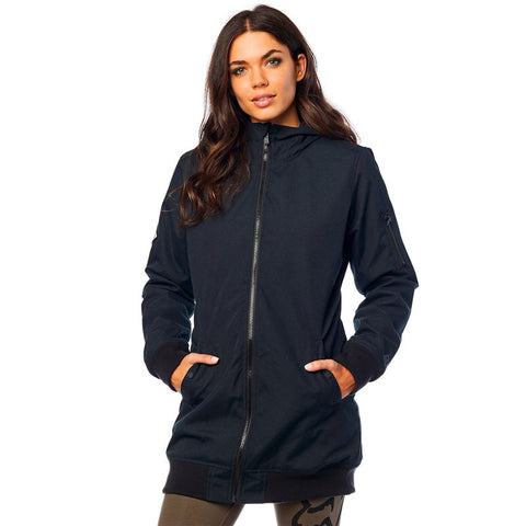 Fox racing dazed long bomber jacket