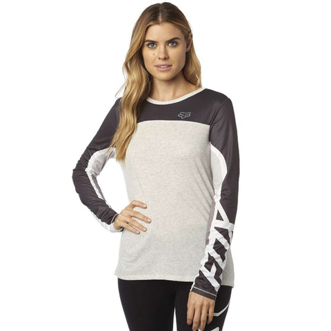 Fox racing comparted mesh long sleeve top