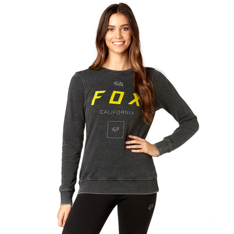 Fox racing growled pullover crew fleece