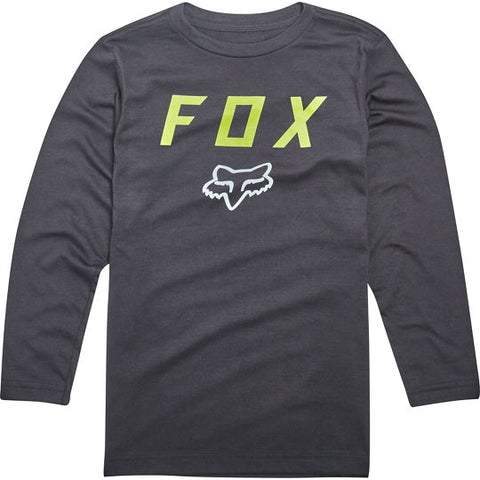 Fox racing dusty trails long sleeve youth