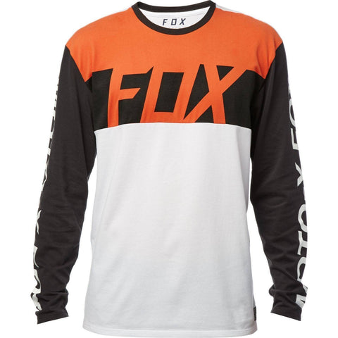 Fox racing scramblur longsleeve airline shirt