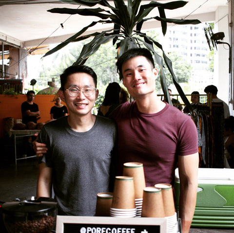 Pore Coffee Co-founders