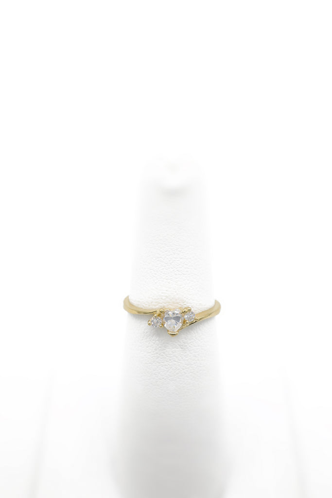*NEW* 14K Heart CZ Ring for Girls - JTJ™ - Javierthejewelernyc
