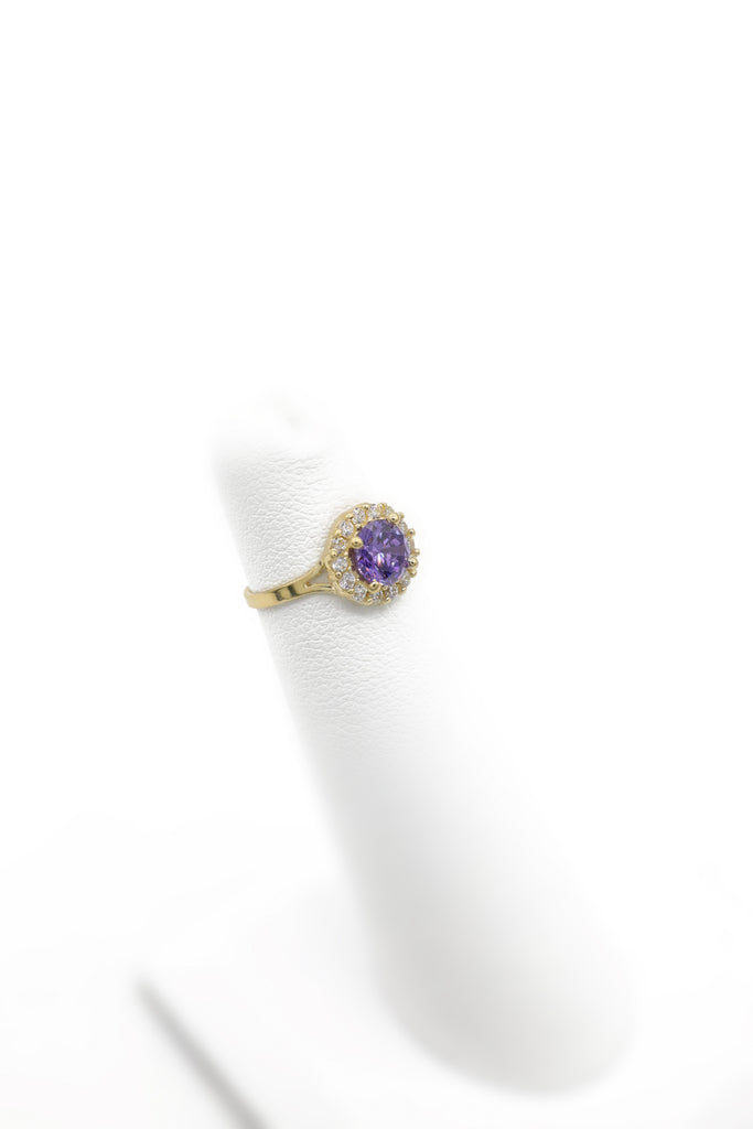 *NEW* 14K CZ Ring for Girls Lavender (Round) - JTJ™ - Javierthejewelernyc