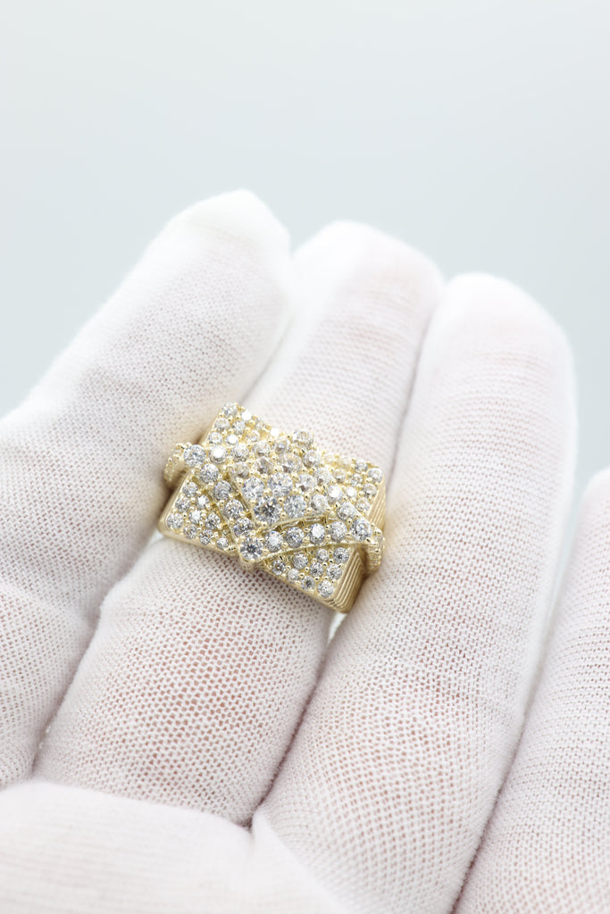 *NEW* 14K CZ Men's Ring - JTJ™ - Javierthejewelernyc