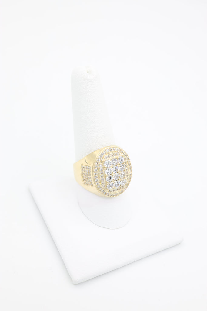 *NEW* 14K CZ Oval Men's Ring - JTJ™ - Javierthejewelernyc