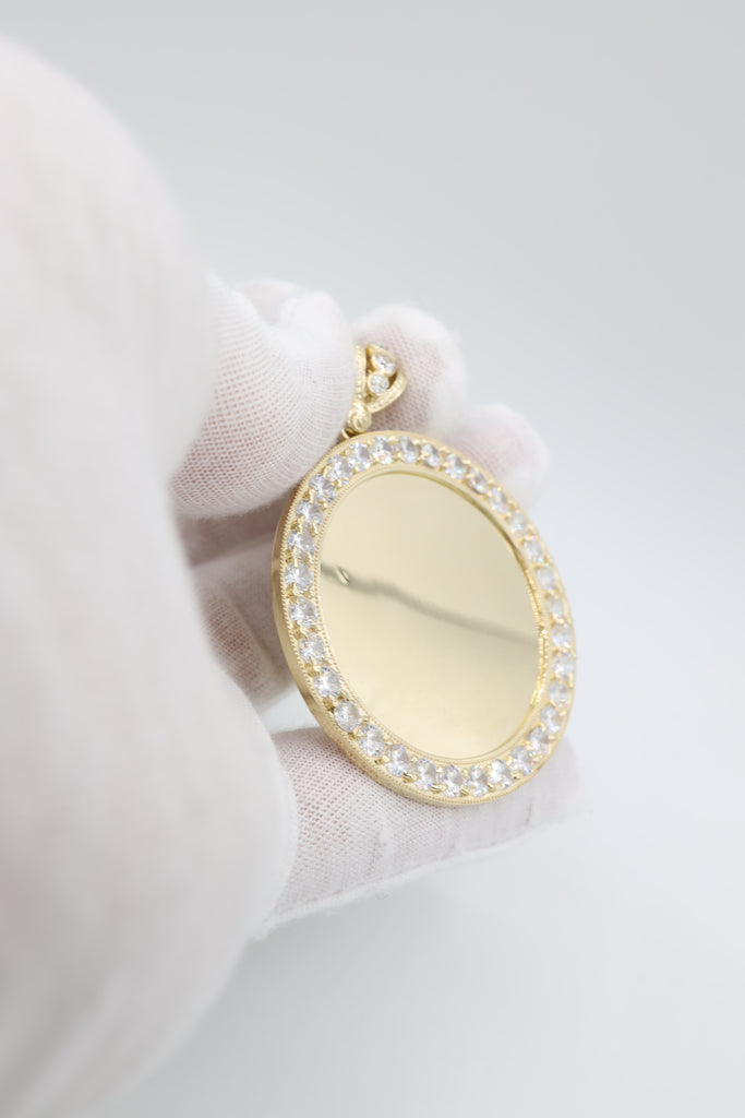 *NEW* 14K Big Picture Pendant ZC JTJ™ - Javierthejeweler