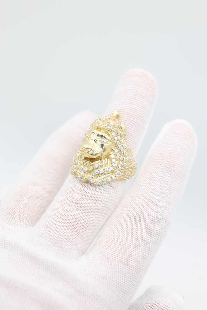 *NEW* 14k Royal Lion Men's Ring JTJ™ - - Javierthejeweler