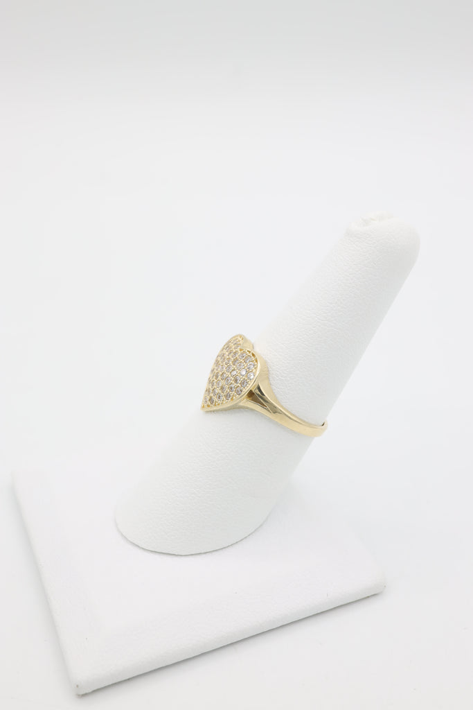 *NEW* 14K Women Heart ZC 💛 Ring  JTJ™ - Javierthejeweler