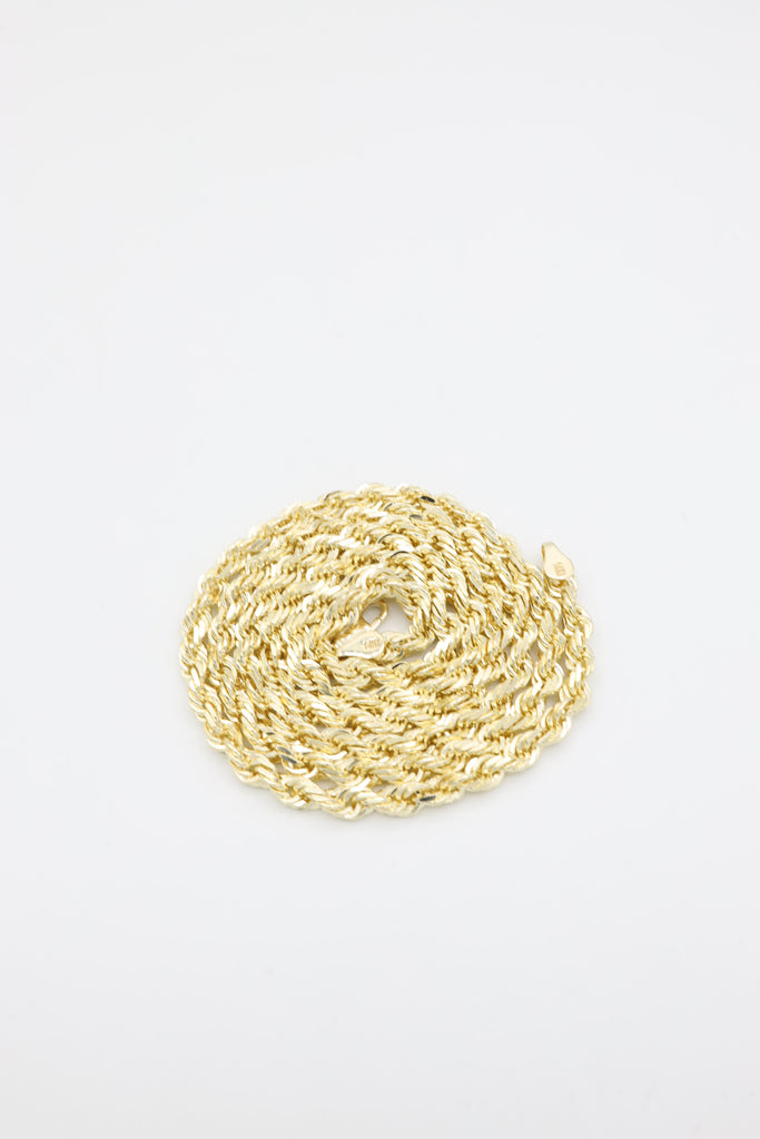 *NEW* 14K Solid Gold Rope Chain - JTJ™ - Javierthejeweler