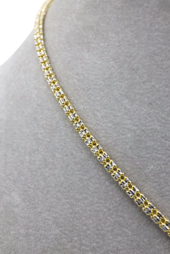 *NEW* 14k Moon Iced Choker With Diamonds 💎 Angel Pendant -JTJ™ - - Javierthejeweler