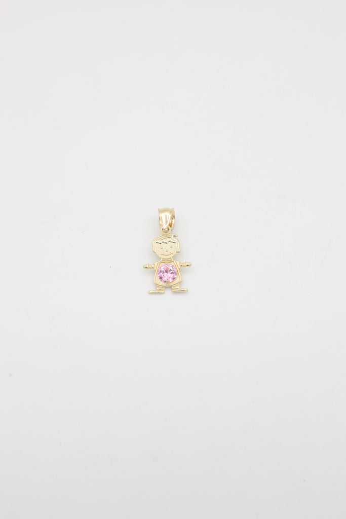 *NEW* 14K Boys Pendant (October) - JTJ™ - Javierthejeweler