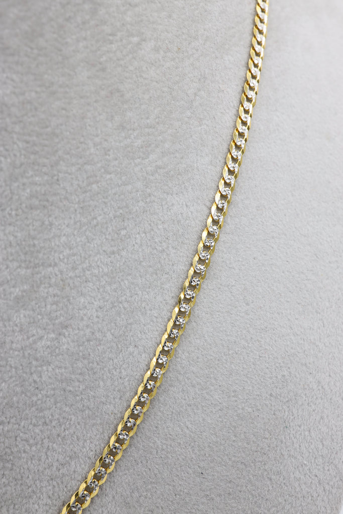 *NEW* 14k Cuban Chain (Two Tone) JTJ™ - Javierthejeweler
