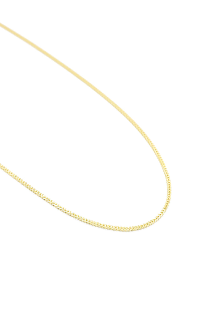 "*NEW* 14K Hollow Franco Chain (18"" Inches)-JTJ™ - Javierthejeweler"