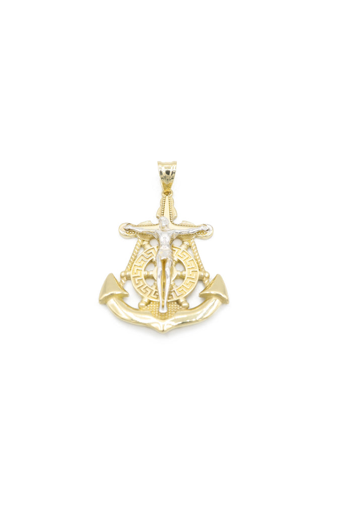 *NEW* 14K Jesus Anchor Cross (Alt.) Pendant JTJ™ - Javierthejeweler