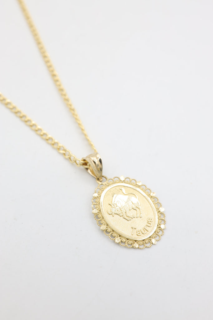 *NEW* 14K Hollow Cuban Chain With Zodiac Signs JTJ™ - - Javierthejeweler