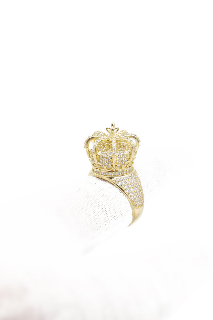*NEW* 14k Royal Crown Men Ring (JUMBO) JTJ™ - Javierthejeweler