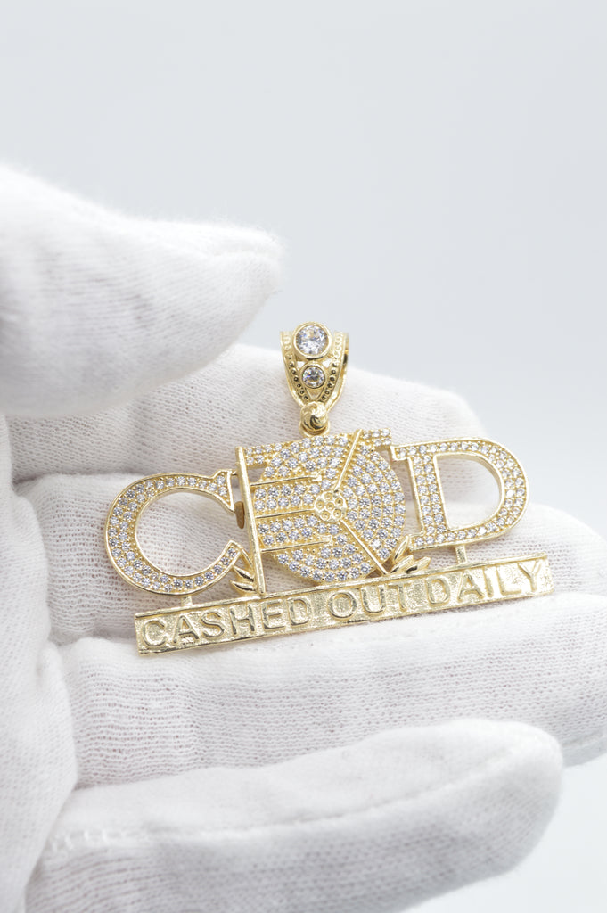 14K Cashed Out Daily (COD) Pendant JTJ™ - - Javierthejewelernyc