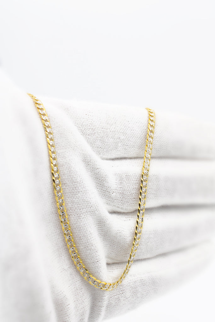 *NEW* 14k Two-Tone Cuban Chain JTJ™ - Javierthejewelernyc