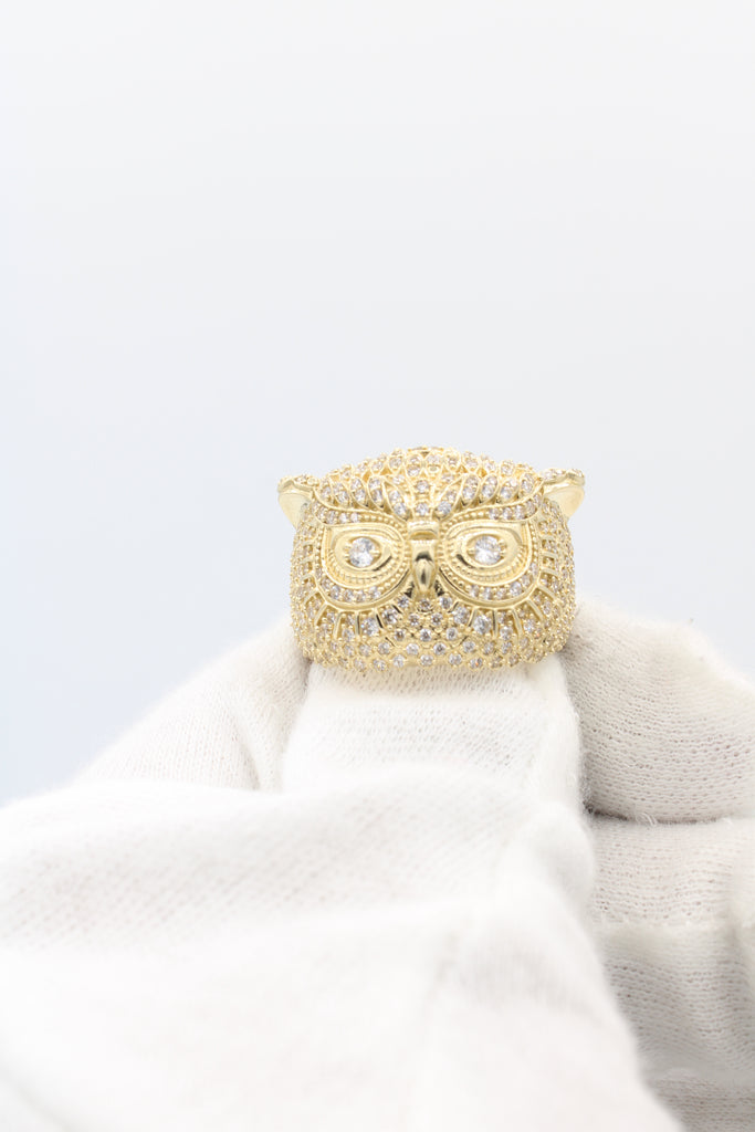 *NEW* 14K CZ Owl Ring - JTJ™ - Javierthejewelernyc