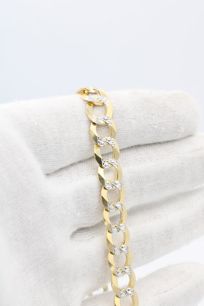 *New* 14K Cuban Two-Tone Link Bracelet JTJ™ - Javierthejewelernyc