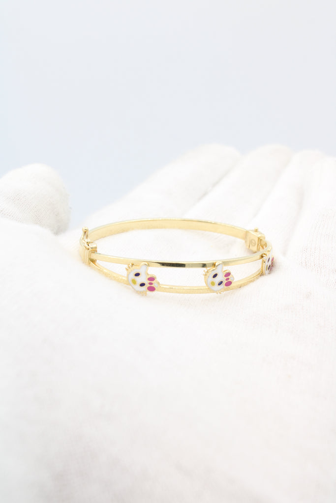 14K Hello Kitty Bangle for Girls JTJ™ - Javierthejewelernyc