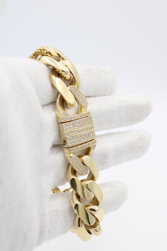 *NEW* 14K Monaco Hollow Bracelet  JTJ™- - Javierthejewelernyc