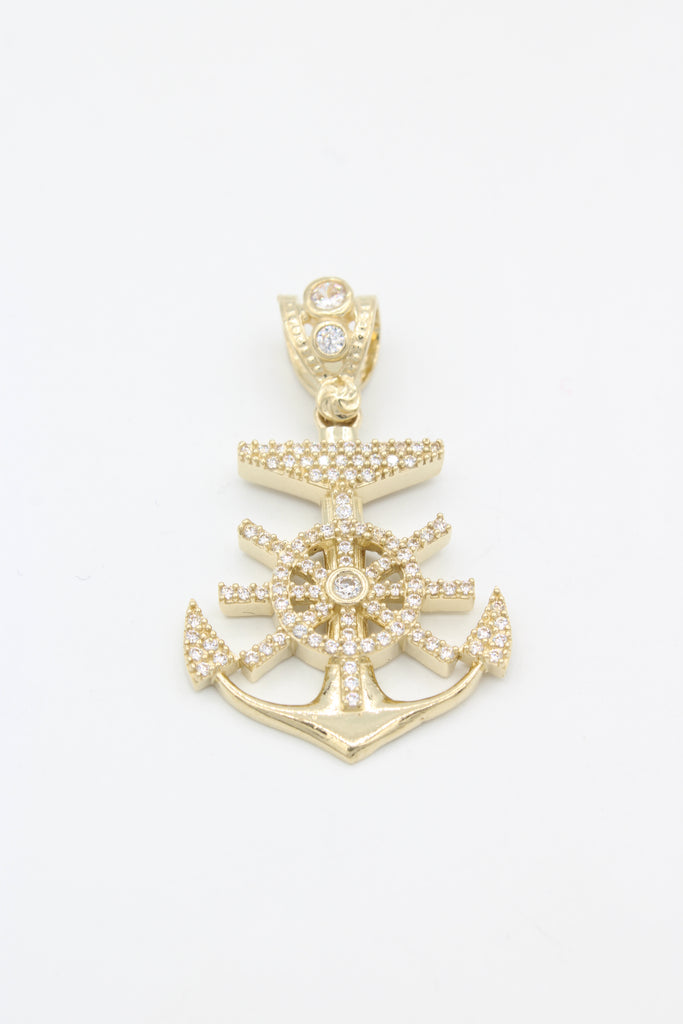 *NEW* 14K Anchor Pendant - JTJ™ - Javierthejeweler