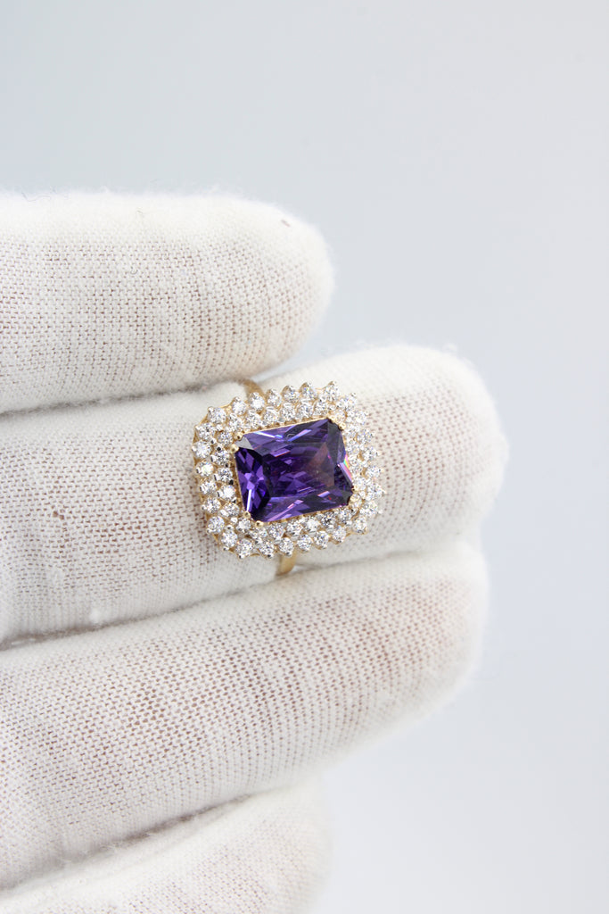 *NEW* 14k Women Ring (Purple)- JTJ™ - Javierthejeweler