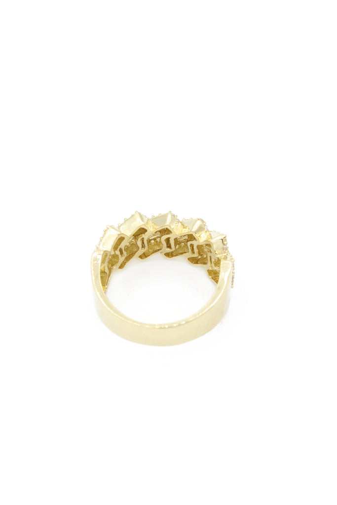 *NEW* 14K  Men's Cuban Ring JTJ™ - - Javierthejeweler