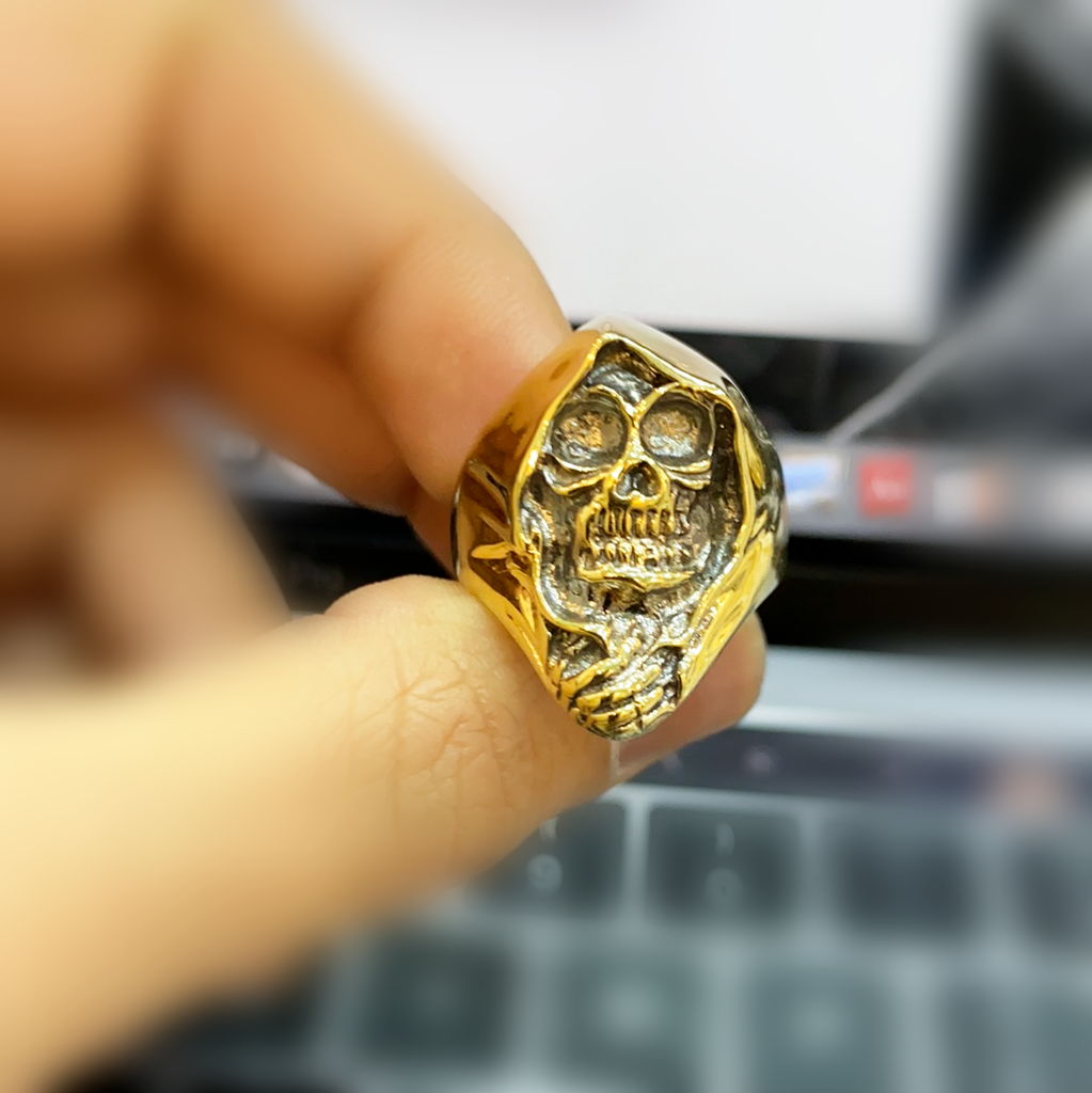 *NEW* 14k Skull  Men's Ring JTJ™ - Javierthejeweler