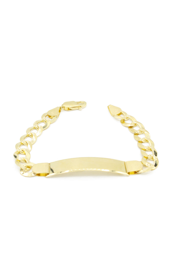 *NEW* 14k Cuban ID Bracelet For Man -JTJ™- - Javierthejeweler