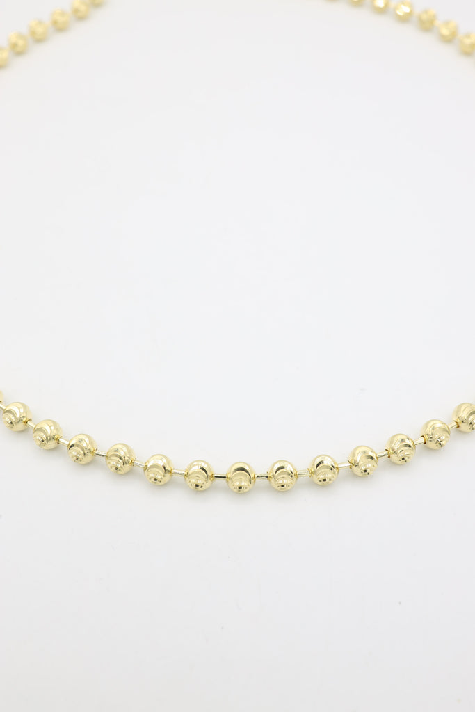 *NEW* 14K Gold Moon Cut Chain JTJ™- - Javierthejewelernyc