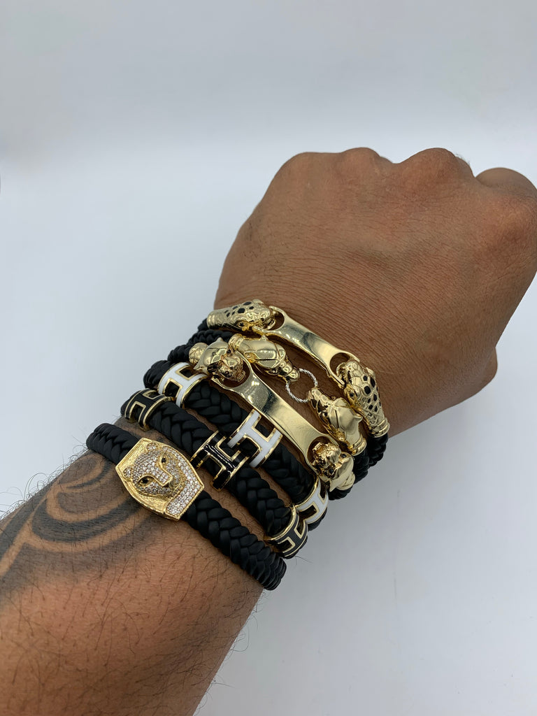 *NEW* 14K Men's Cartier Bracelet (alt.)-JTJ™ - - Javierthejeweler