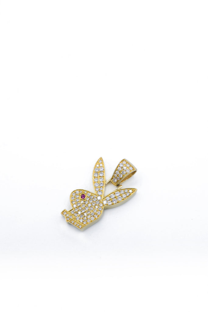 *NEW* 14K Diamond Playboy Bunny Pendant JTJ™ - Javierthejewelernyc