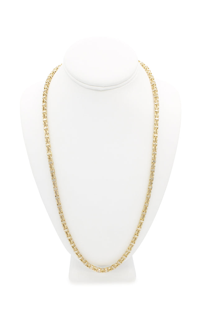 *NEW* 14K Square Chain (Fancy) JTJ™- - Javierthejeweler