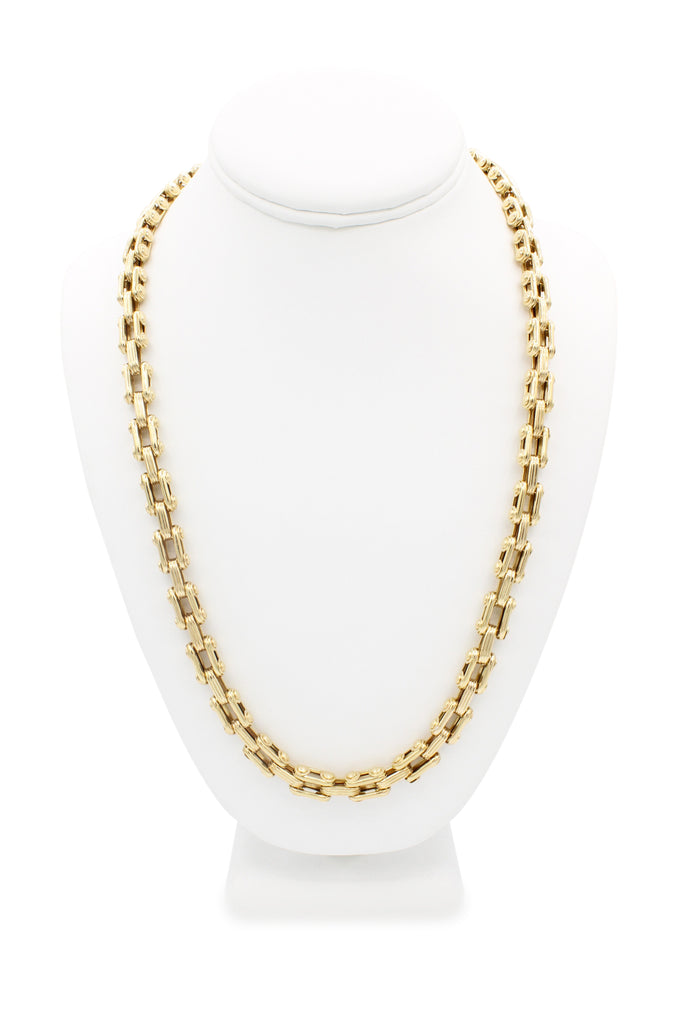 *NEW* 14K Bike Chain (Fancy) JTJ™- - Javierthejeweler