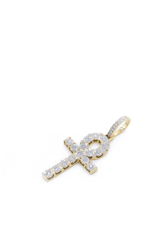 *NEW* 14K Diamond Ankh Pendant JTJ™ - Javierthejewelernyc