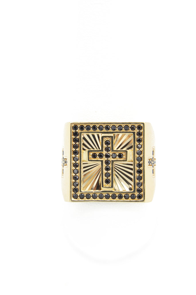 *NEW* 14k Cross Men's Ring JTJ™ - Javierthejeweler
